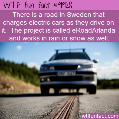 fun car fact road charges car in sweden