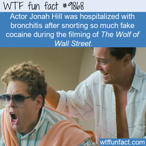 fun fact actor Jonah Hill hospitalized