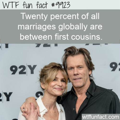fun fact first cousin marriages