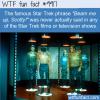 Fun Fact – Star Trek's famous phrase never actually said
