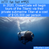 Fun Fact – Titanic Tours