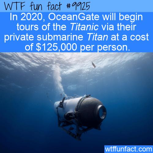 fun fact titanic tours