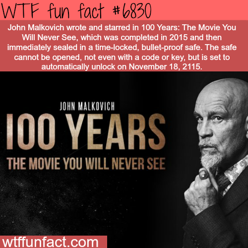 100 Years - The Move You Will Never See - WTF fun fact