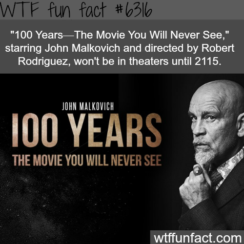 100 Years - The Movie You Will Never See - WTF fun facts