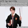 17000 actors auditioned for the role of harry