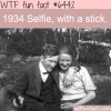 1934 selfie stick wtf fun facts