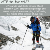 47 year old mark inglis climbed mount everest in