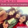 50 year old mom and her 2 daughters