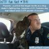 a drug dealers fighting dog became a police dog