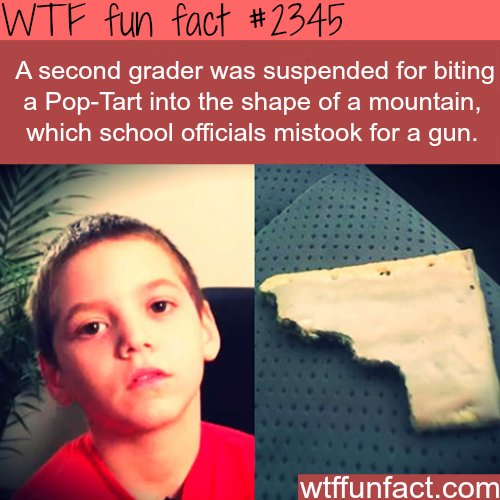 A second grader got suspended for stupid reason -WTF funfacts