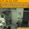a woman lived in a closet for a whole year