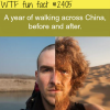 a year of walking across china