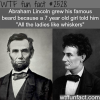 abraham lincoln without a beard