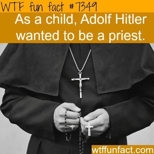 Adolf Hitler - WTF fun facts