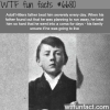 adolf hitlers dad beat him when he was a kid wtf