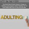 adulting 101 wtf fun fact