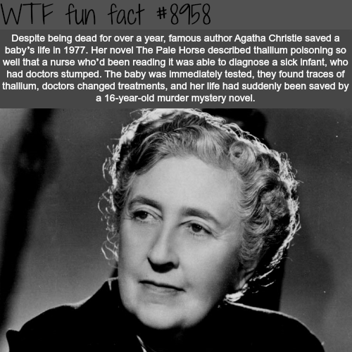 Agatha Christie - WTF fun facts