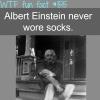 albert einstein weird facts