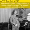 albert einstein wtf fun facts