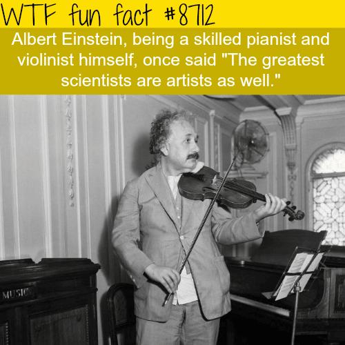 Albert Einstein - WTF fun facts