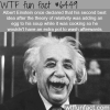 albert einsteins second best idea wtf fun facts