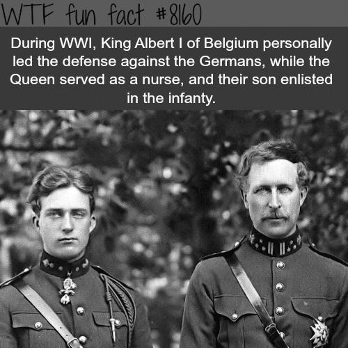 Albert I of Belgium - WTF fun fact