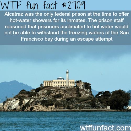 Alcatraz prison facts -WTF funfacts