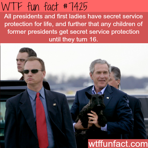 All presidents and first ladies get secret service protection for life - FACTS