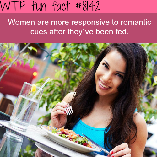Always feed your woman - WTF fun fact