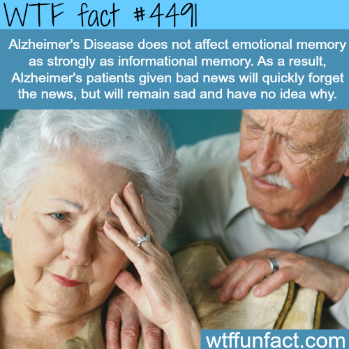 Alzheimer's disease facts -   WTF fun facts