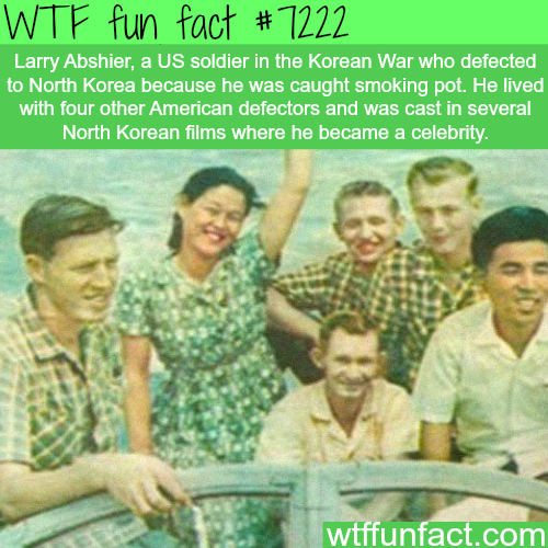 American defector who lived in North Korea for the rest of his life  - WTF Fun Fact