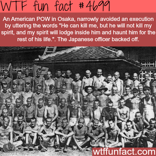 American POW in Japan survives death - WTF fun facts