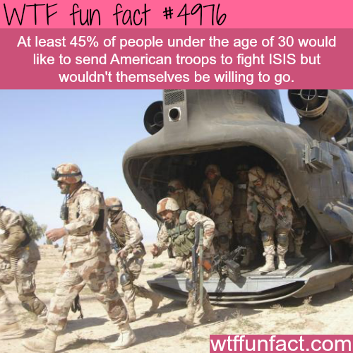 American troops in Iraq - WTF fun facts