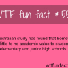 an australian study on homework