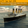 an exact replica of the titanic will set sail this