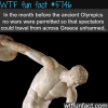 ancient olympics wtf fun facts