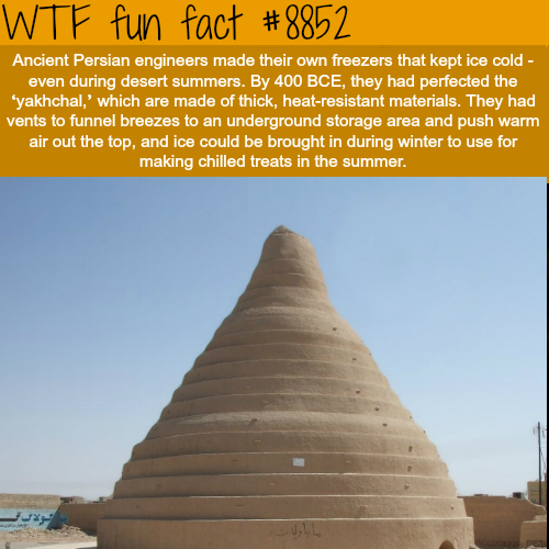 Ancient Persian engineers - WTF fun facts
