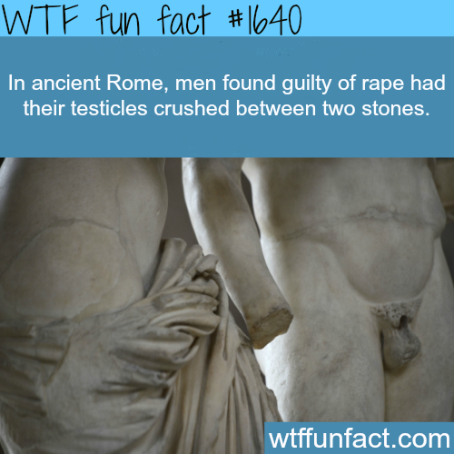 Ancient Rome laws -WTF fun facts