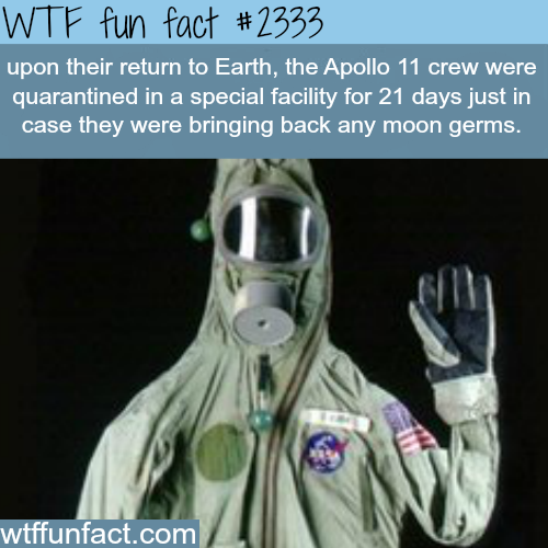 Apollo 11 crew facts -WTF funfacts