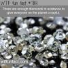 are diamonds rare wtf fun facts