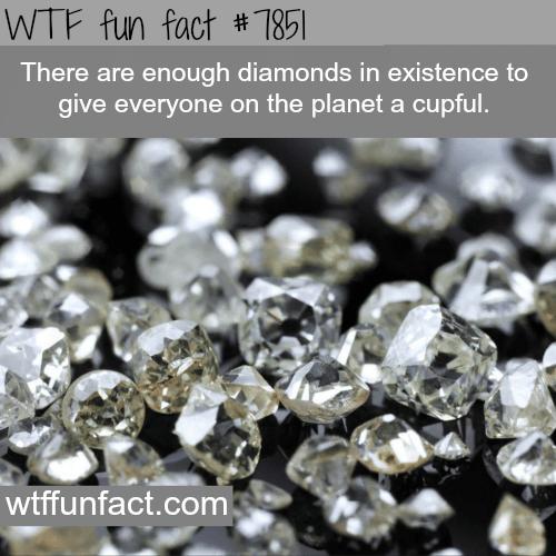 Are diamonds rare? - WTF fun facts