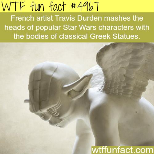 Art work by Travis Durden - WTF fun facts