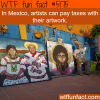 artists in mexico can pay taxes with their artwork