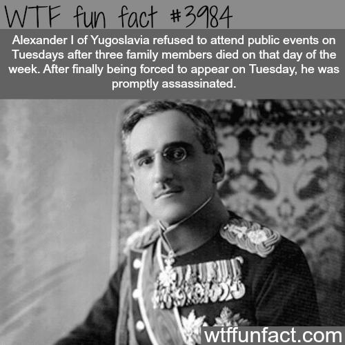 Assassination Alexander I of Yugoslavia - WTF fun facts