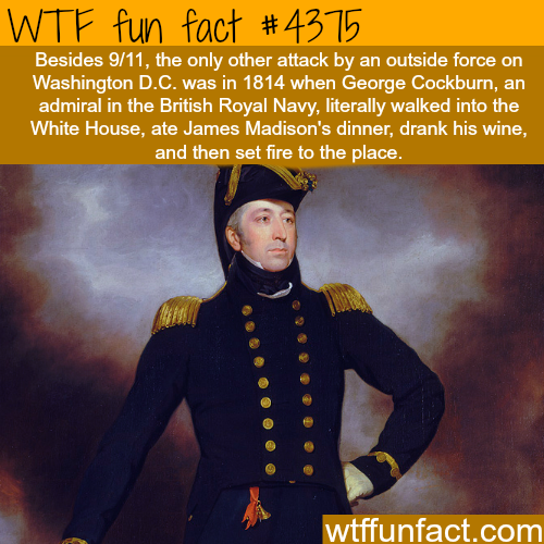 Attacks on Washington D.C. -   WTF fun facts