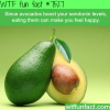 avocados can make you happy wtf fun fact