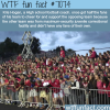 awesome football coach gets fans to support