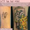bad pikachu tattoo gets fixed by tattoo artist