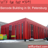 barcode building in st petersburg