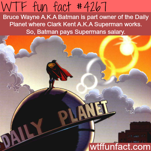 Batman v Superman -  WTF fun facts
